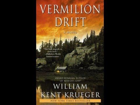 "William Kent Krueger, novelist, ""Vermilion Drift"""