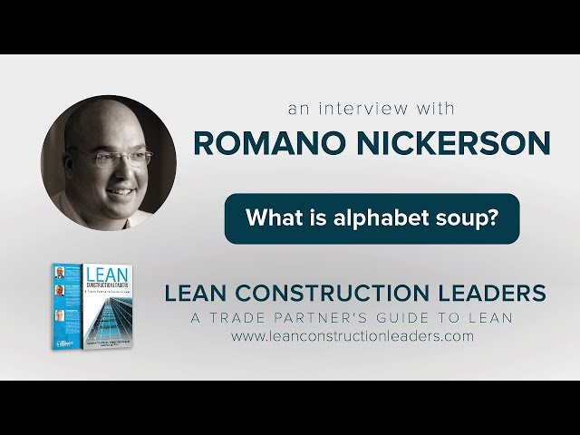 What is alphabet soup?
