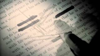 Intro credits to the film, Se7en. Wonderfully shot, and you can cle...