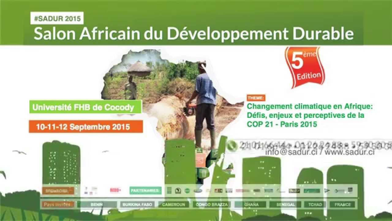 salon africain du d veloppement durable youtube