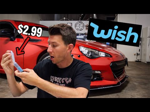 Buying Ridiculously CHEAP Car Parts from Wish!