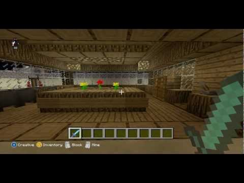 Full download how to build a kitchen dining room for Minecraft kitchen ideas xbox