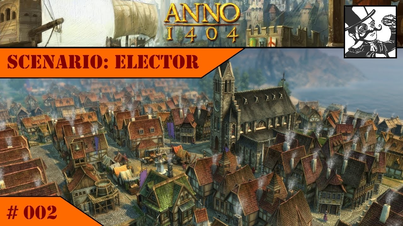 Anno 1404 - Venice: Elector #002 Patricians are coming to town