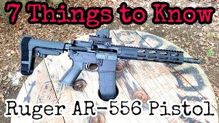 7 Things to Know: Ruger AR-556 Pistol