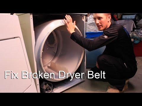 Fix Broken Dryer Belt
