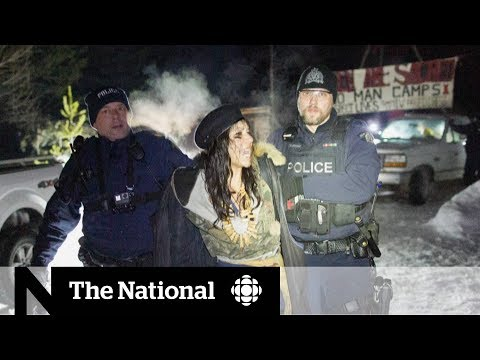 RCMP arrests protesters