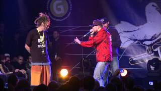 Monkey vs Reeps One - 1/4 Final - 3rd Beatbox Battle World Championship
