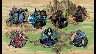 Shadow Fight 2    Underworld - ALL BOSSES「Android Gameplay」