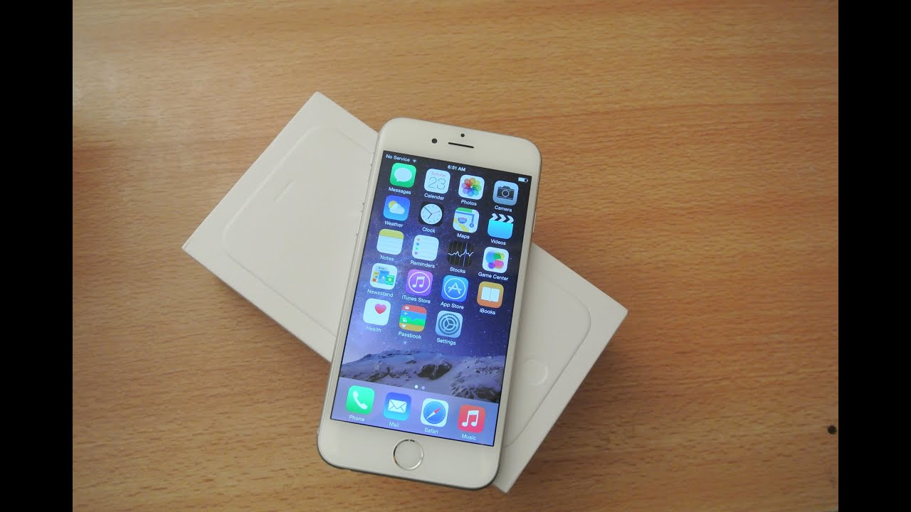 Iphone 6 White Unboxing Hd Youtube Apple 64gb Grey