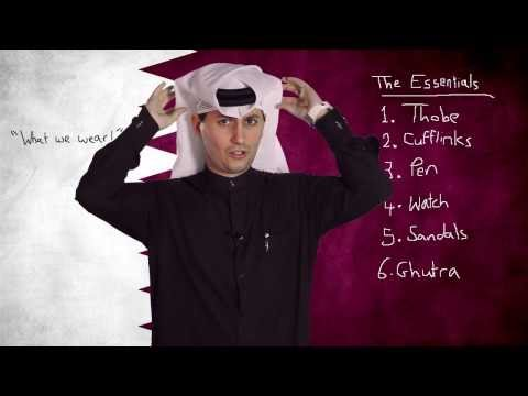 #Qtip: Qatari Men's National Dress (and what we wear under it!)