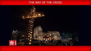 Pope Francis - The Way of the Cross 2018-03-30
