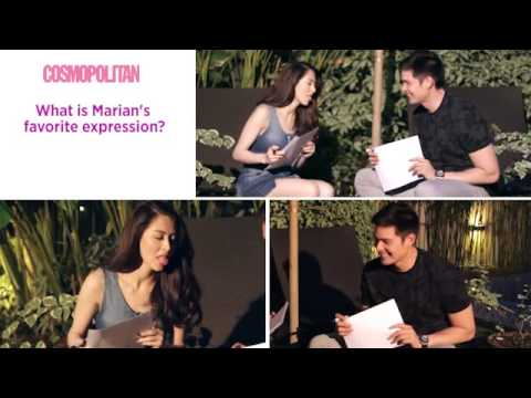 Marian Rivera and Dingdong Dantes: The Cosmo Couple Challenge! - 동영상