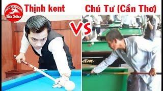 Gambar cover Thịnh kent vs Chú Tư Đạo (Cần Thơ) - giao lưu 2 thế hệ - bida phăng 당구