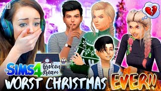 *SPECIAL EPISODE!* 😭BROKEN CHRISTMAS!🎄 ( Return to The Sims 4 - BROKEN DREAM! 🏚)
