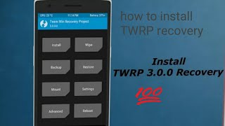 How to install TWRP recovery new update mode on any android mobiles hindi in india