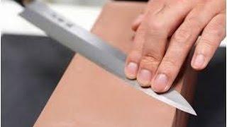 Cara menajamkan kembali pisau dan gunting yang tumpul