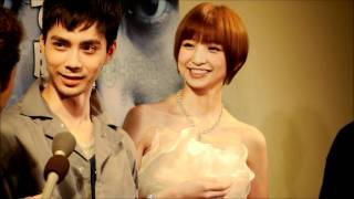 2012年2月8日、東京・六本木で映画『TIME』のプレミアム試写会が行われ...
