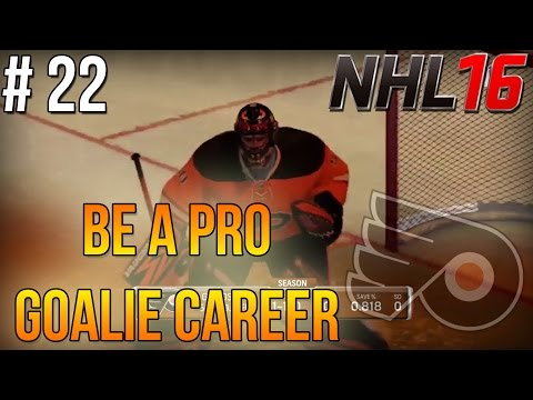 "NHL 16 Be A Pro – Goalie Career ep. 22 – ""Preseason Games (Livestream)"""