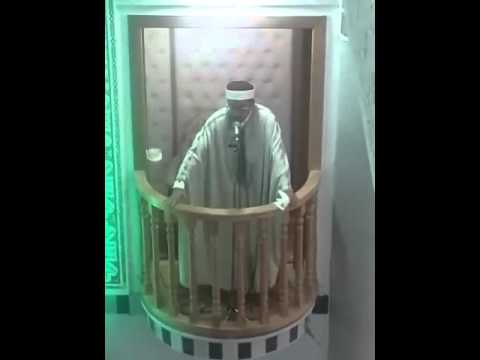 خطبة الجمعة 23 اكتوبر 2015 - الإمام أسعد العش - جامع البستان صفاقس