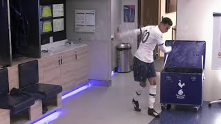 Mourinho, Alli and Son Heung Min angry reactions to Tottenham losing - Tottenham Amazon Documentary