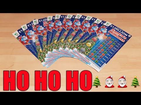 NEW Santa's Millions Scratchcards