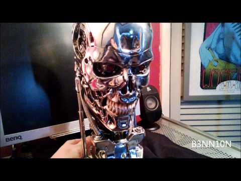 Chinese Copy - Terminator 1:1 Life-Size T-800 Endoskull Sideshow Replica