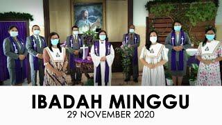 Ibadah Minggu 29 November 2020 untuk Umum