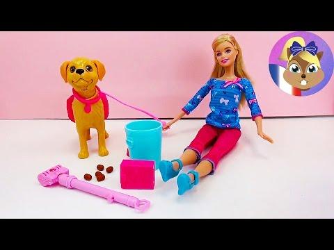 Barbie et son chien d mo commentaires barbie et son petit chien propre bdh74 youtube - Barbie et son chien ...