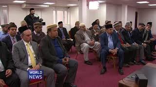 USA Terheek-e-Jadid team visit Hazrat Mirza Masroor Ahmad