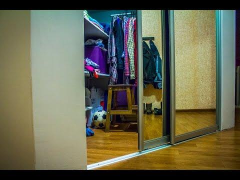 гардеробная комната угловая