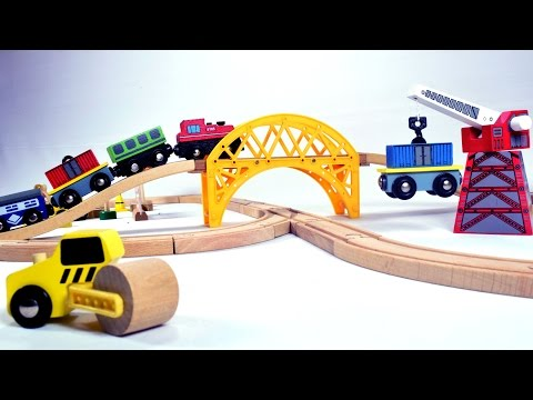 construction train set – trains for children – train for kids – train videos – trains for kids