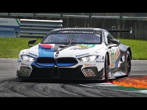 BMW M8 GTE In Action At Monza Circuit Ahead Of The 24 Hours Of Le Mans 2018!