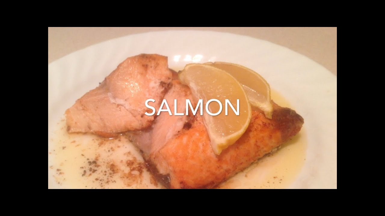 how to cook salmon in the oven youtube