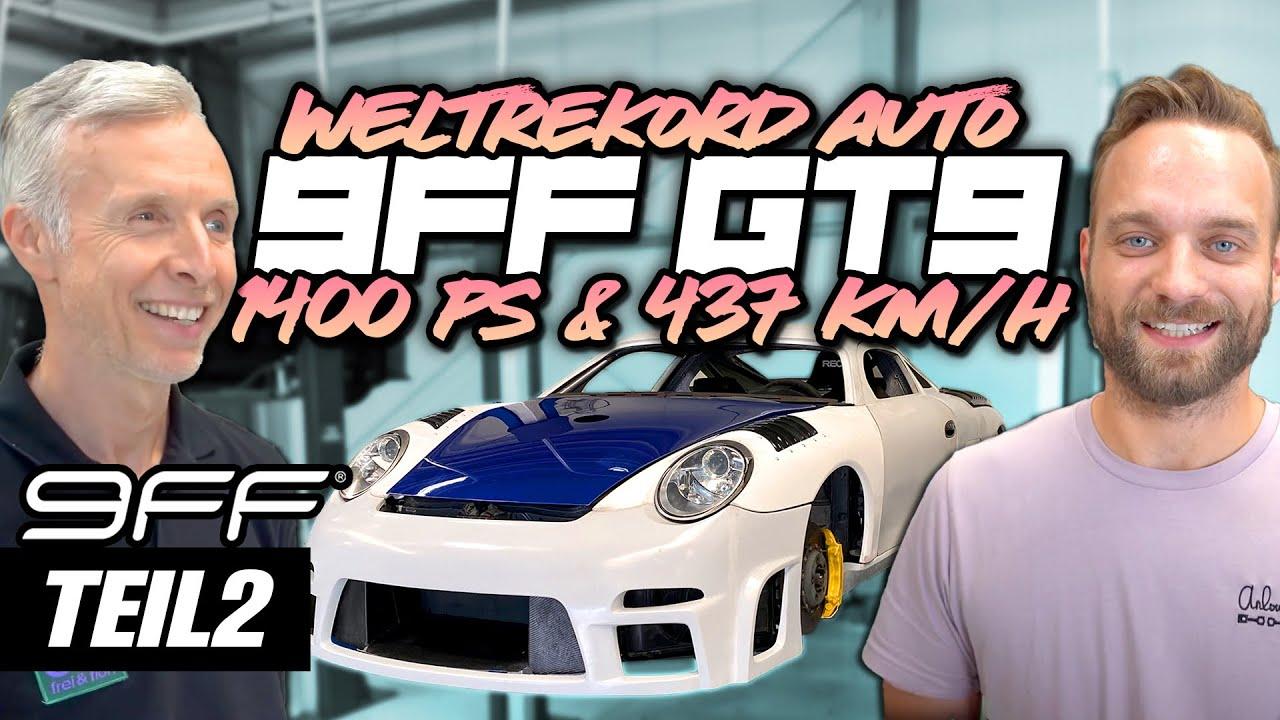 9FF Eigenbau - Der Weltrekord GT9 mit 1400 PS & 437 Km/h! Zu Besuch bei 9FF Teil 2 | Philipp Kaess |