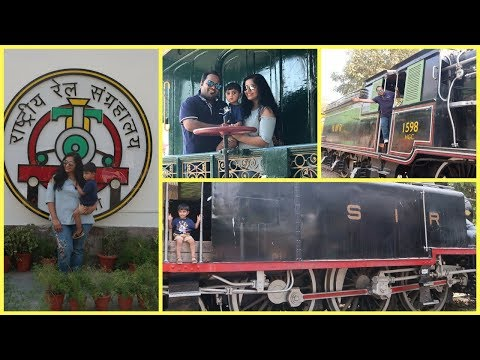 A Visit to NATIONAL RAIL MUSEUM in Delhi | Things to do in Delhi with Toddler