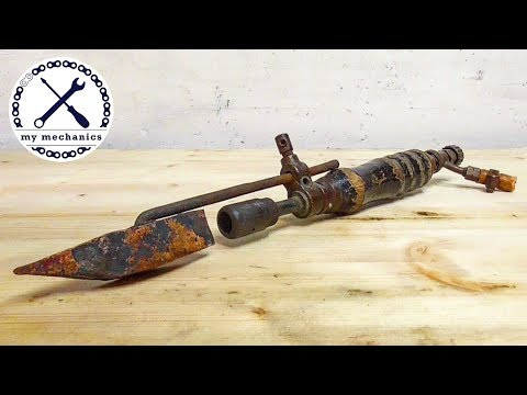 Antique Soldering Iron (Blowtorch) - Hot Restoration