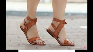 Most Beautiful Flat Sandals For Women Latest Collection