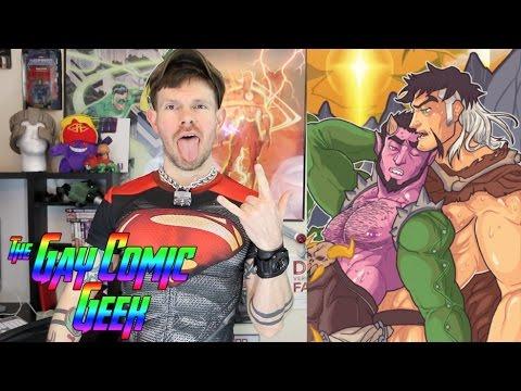 Class Comics Hook Ups - Deimos And Zahn #2 - Gay Comic Book Review (SPOILERS)