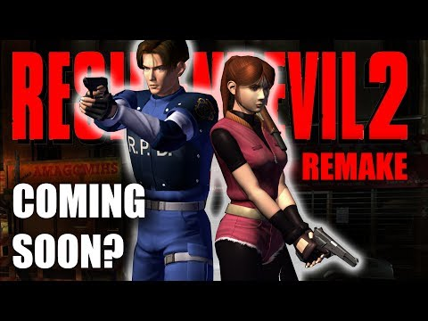Resident Evil 2 Remake | Release Date Tease | RE2 Remake Coming Soon? LOL