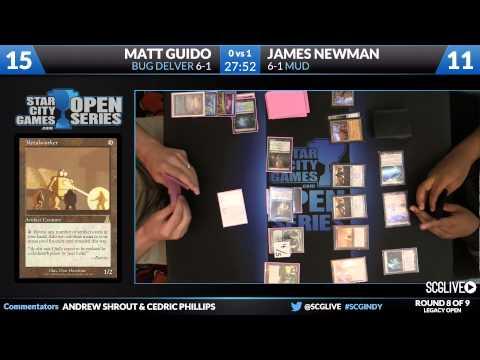 SCGINDY - Legacy - Round 8 - Matt Guido Vs James Newman