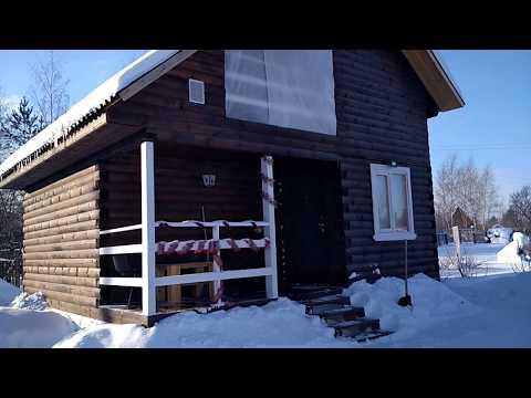видео: Дачный дом. Можно ли жить на даче зимой))