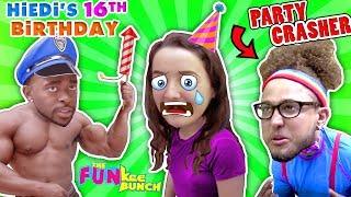 BIRTHDAY NIGHTMARE!!  LIES AND PRANKS...BODYBUILDING BAD PARTY CRASH!!