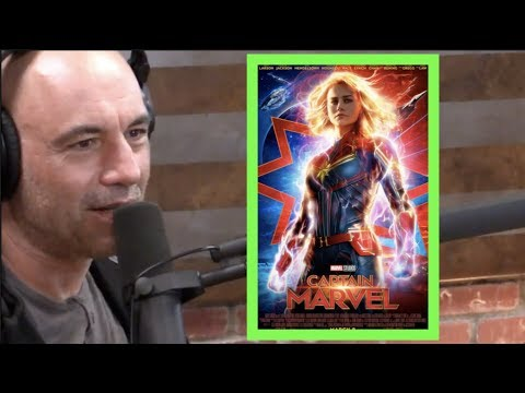 Joe Rogan on Captain Marvel