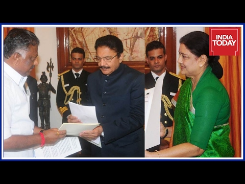 Governor Sends Report To Centre After Meeting Sasikala & Panneerselvam