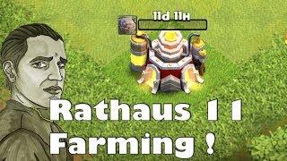 RATHAUS 11 GOLEM LVL 7 WIR KOMMEN ! - CLASH OF CLANS