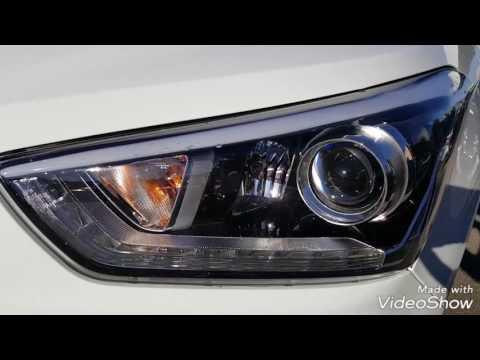 Поворотный свет в Hyundai Creta