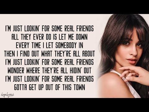 Real Friends - Camila Cabello (Lyrics)