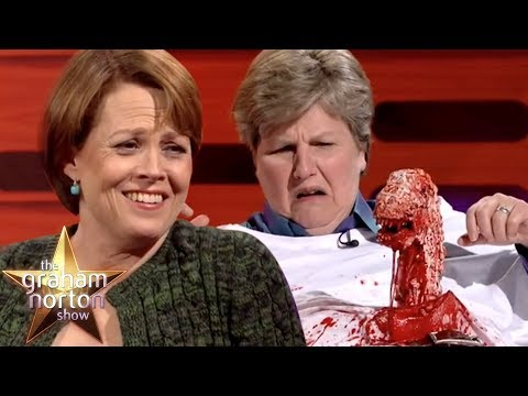Sigourney Weaver Helps Recreate The Iconic Alien Moment | The Graham Norton Show