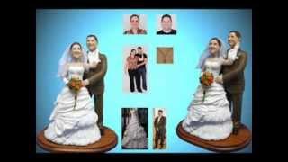 Фигурки на свадебный торт из полимерной глины 01.07.2012
