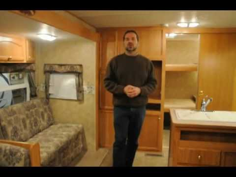 2007 Crossroads Zinger 29db Travel Trailer With Bunk Beds